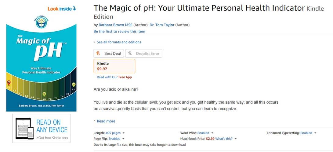 MpH Kindle listing